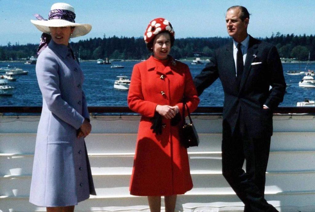 Prince Philip, Queen Elizabeth, Princess Anne