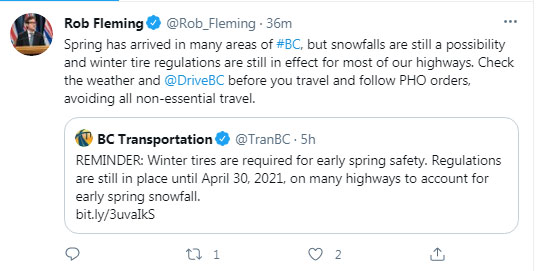 Rob Fleming, Twitter