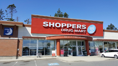 Shoppers Sooke