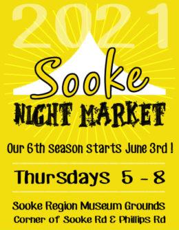 Sooke Region Museum, night market