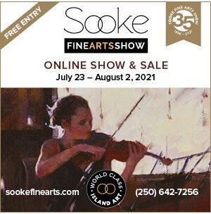 sooke fine arts show, ad, 2021