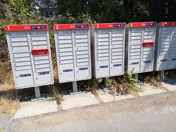 community mailbox, canada post
