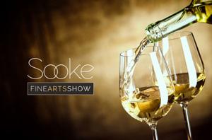 sooke fine arts show, wine