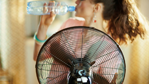 fan, water