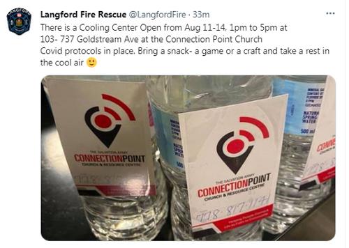 cooling center, langford