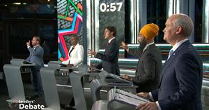 election debate, federal, sept 2021