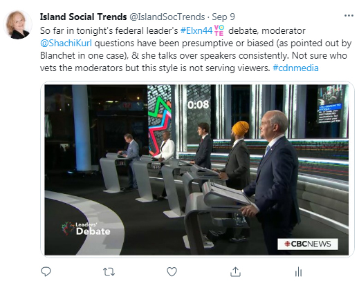 twitter, island social trends, election