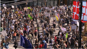 covid, protest