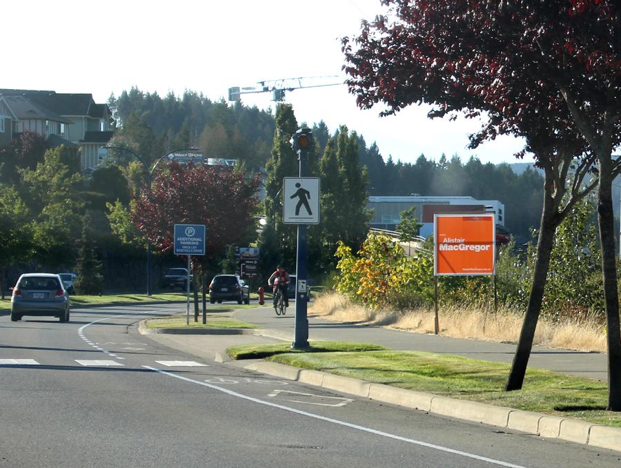 election signage, NDP