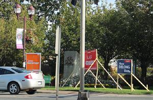 election signage, langford