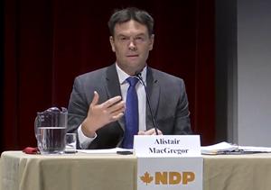 alistair macgregor, debate