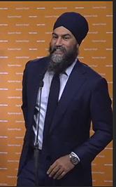 Jagmeet Singh, Sept 2021