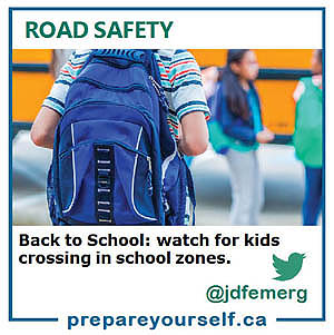 BACK TO SCHOOL – play it safe!