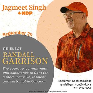 Randall Garrison, NDP, 2021