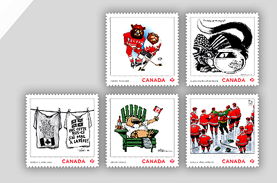 canada post, stamps