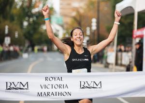 victoria marathon, 2021