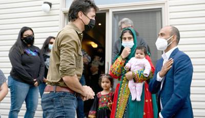 trudeau, refugees